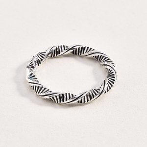Sterling 925 Helix Ring